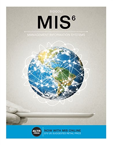 9781305632004: MIS (with MIS Online, 1 term (6 months) Printed Access Card) (New, Engaging Titles from 4LTR Press)