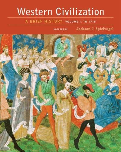 9781305633476: Western Civilization: A Brief History, Volume I: To 1715