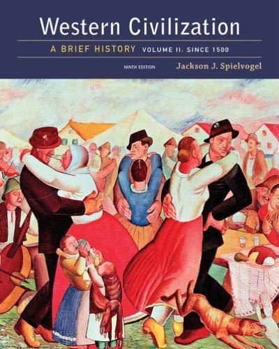 9781305633483: 2: Western Civilization: A Brief History, Volume II: Since 1500