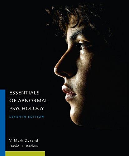 9781305633681: Essentials of Abnormal Psychology