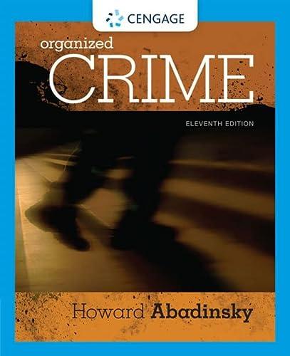 9781305633711: Organized Crime