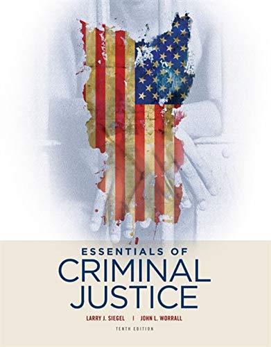 9781305633766: Essentials of Criminal Justice