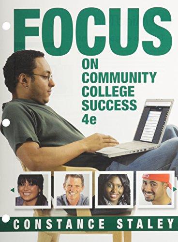 9781305633964: FOCUS on Community College Success