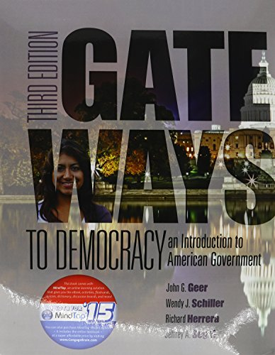 9781305634022: Gateways to Democracy: An Introduction to American Government (I Vote for MindTap)