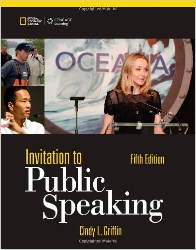 9781305634572: Invitation to Public Speaking - National Geographic Edition, Loose-Leaf Version
