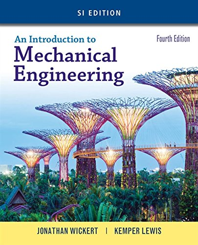 9781305635753: An Introduction to Mechanical Engineering, SI Edition