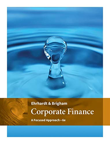 9781305637108: Corporate Finance: A Focused Approach