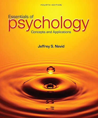 9781305642348: Essentials of Psychology: Concepts and Applications