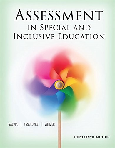 9781305642355: Assessment in Special and Inclusive Education