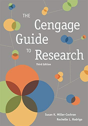 9781305646391: Cengage Guide to Research