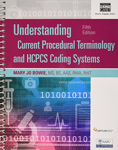 9781305647060: Understanding Current Procedural Terminology and HCPCS Coding Systems, Fifth Edition (Book Only)