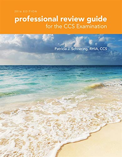 9781305648579: Professional Review Guide for the CCS Examination, 2016 Edition includes Quizzing, 2 terms (12 months) Printed Access Card