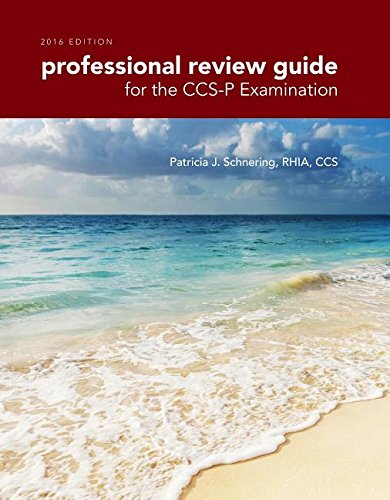 9781305648623: Professional Review Guide for the CCS-P Examination, 2016 Edition (Book Only)
