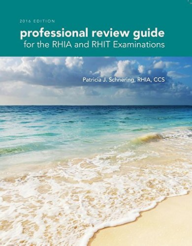 9781305648647: Professional Review Guide for the RHIA and RHIT Examinations, 2016 Edition (Book Only)