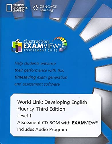 9781305650954: World Link Level 1 Assessment CD-ROM with ExamView A1/A2 (3rd ed)