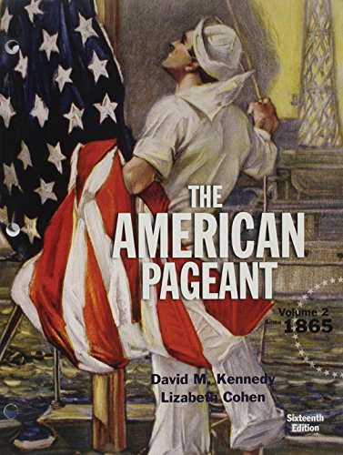 9781305651760: American Pageant, Volume 2