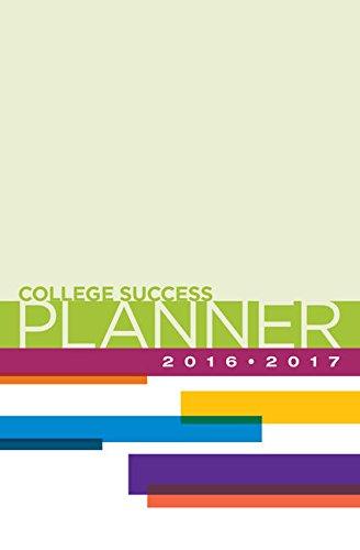 9781305652064: College Success Planner 2016-2017