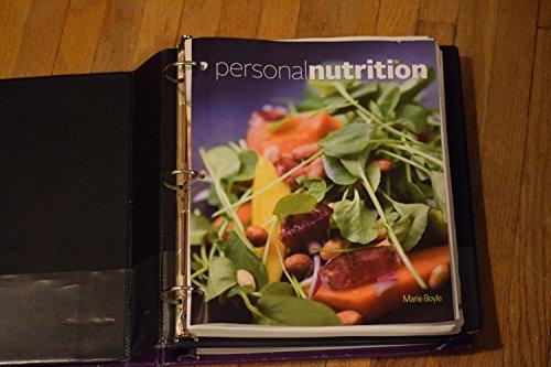 9781305652743: Personal Nutrition, Loose-leaf Version