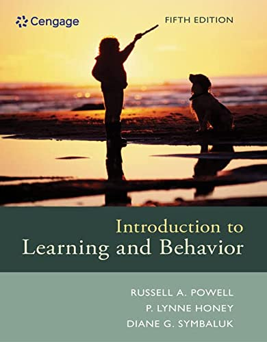 9781305652941: Introduction to Learning and Behavior