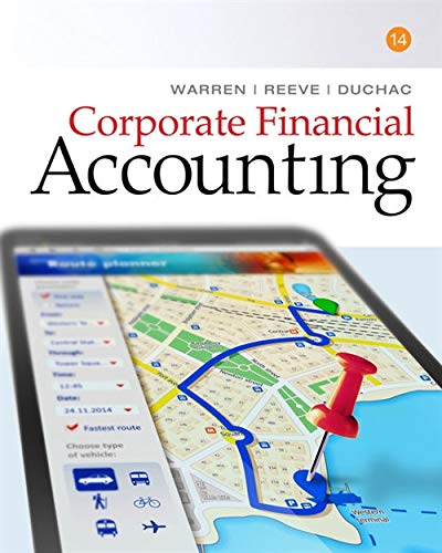 9781305653535: Corporate Financial Accounting