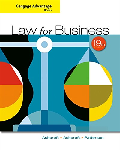 9781305654921: Cengage Advantage Books: Law for Business