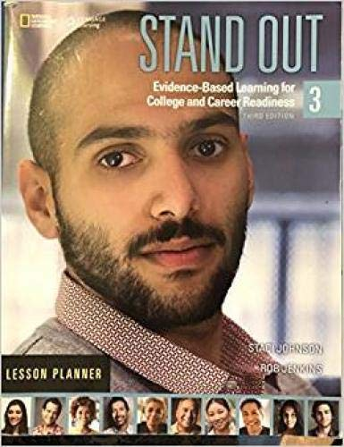 9781305655539: Stand Out: Lesson Planner 3