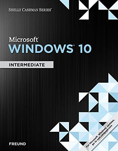 9781305656758: Shelly Cashman Series Microsoft Windows 10: Intermediate