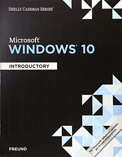 9781305656765: Shelly Cashman Series Microsoft Windows 10: Introductory
