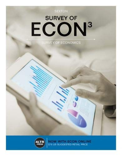 9781305657625: Survey of ECON (with Survey of ECON Online, 1 term (6 months) Printed Access Card) (New, Engaging Titles from 4LTR Press)