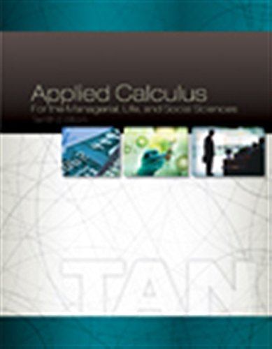 9781305657861: Applied Calculus for the Managerial, Life, and Social Sciences