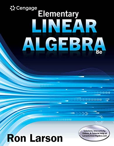 9781305658004: Elementary Linear Algebra
