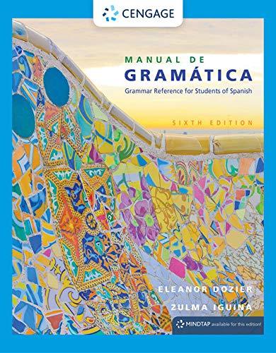 9781305658226: Manual de gramática (World Languages)