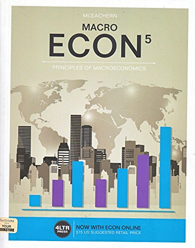 9781305659087: ECON MACRO (Book Only)