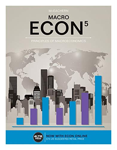9781305659094: ECON MACRO (with ECON MACRO Online, 1 term (6 months) Printed Access Card) (New, Engaging Titles from 4LTR Press)