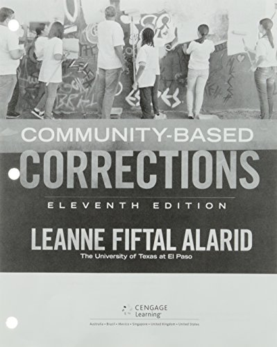 9781305659414: Community-Based Corrections, Loose-leaf Version