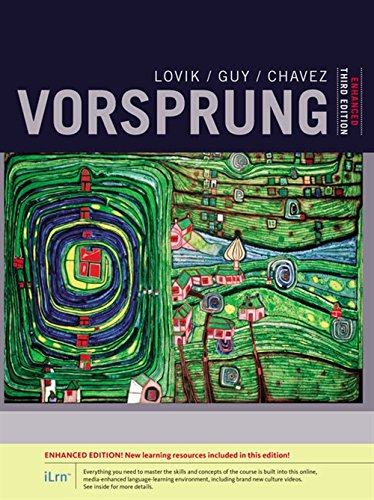 9781305659797: Vorsprung: A Communicative Introduction to German Language And Culture, Enhanced (World Languages)