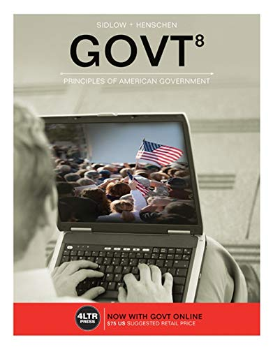 9781305660816: GOVT (with GOVT Online, 1 term (6 months) Printed Access Card) (New, Engaging Titles from 4LTR Press)