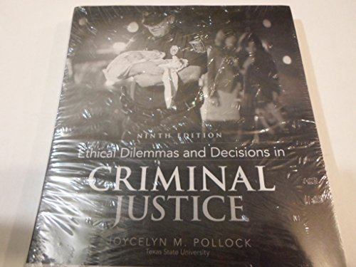 ethical dilemmas in the criminal justice Ethical issues in criminal justice ethics, or moral conduct, are of major importance in the criminal justice field today if the police force condoned unethical behavior, there would be very little, if any, justice being served.