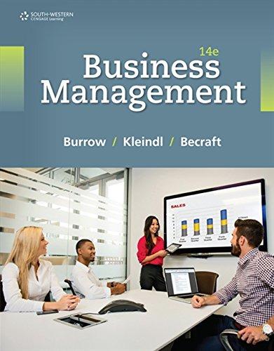 9781305661813: Business Management