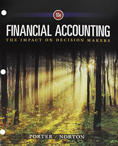 9781305661981: Financial Accounting: The Impact on Decision Makers, Loose-Leaf Version