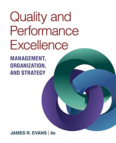 9781305662223: Quality & Performance Excellence