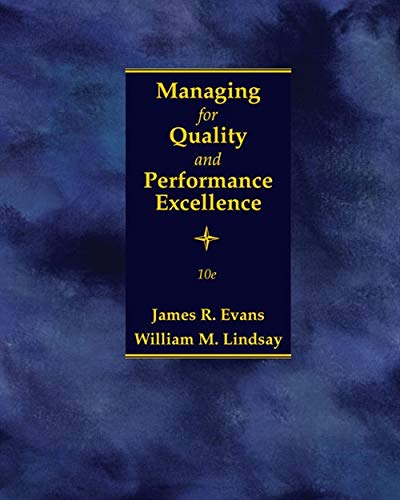 9781305662544: Managing for Quality and Performance Excellence