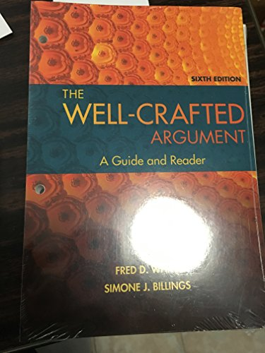 9781305662711: The Well-Crafted Argument