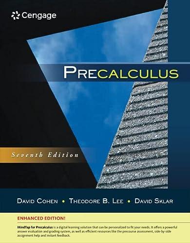 9781305663107: Precalculus, Enhanced Edition
