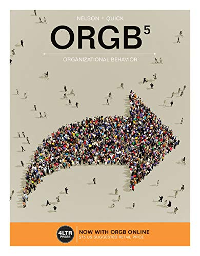 9781305663916: ORGB (with ORGB Online, 1 term (6 months) Printed Access Card) (New, Engaging Titles from 4LTR Press)