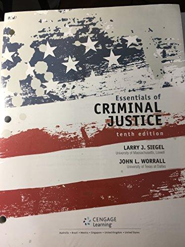 9781305664043: Essentials of Criminal Justice, Loose-leaf Version