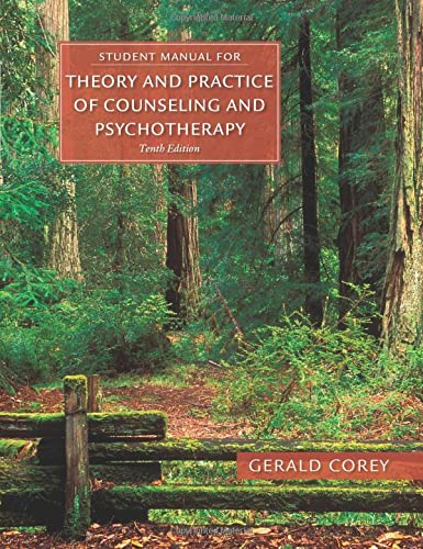 9781305664470: Student Manual for Corey's Theory and Practice of Counseling and Psychotherapy
