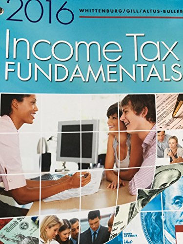 9781305664623: Income Tax Fundamentals 2016, Loose-Leaf Version
