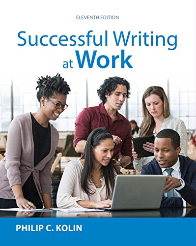 Successful Writing at Work (MindTap for English): Kolin, Philip C.