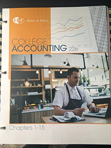 9781305667631: College Accounting, Chapters 1-15, Loose-Leaf Version